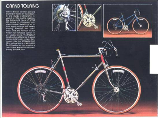 1982 Motobecane Grand Touring