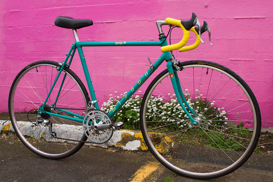1991 Miyata 721   The Simplicity of Vintage Cycles